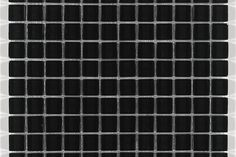 Our Christoval Glass tile in Midnight Black - bold and sophisticated.