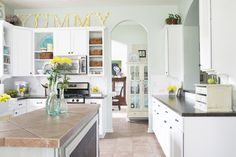 kitchen paint colors with white cabinets | Paint Kitchen Cabinets White: Brighter Results for New Kitchen Colors ...