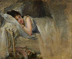 Eugene Boudin - LE SOMMEIL (Sleep)