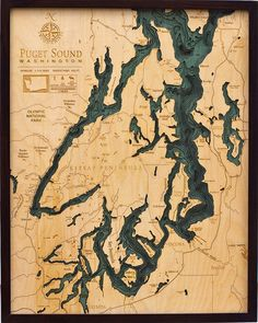 680 best papercraft images in 2019 do crafts paper paper crafts puget sound washington wood chart wooden map nautical art the wooden