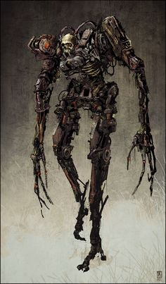 ArtStation - ZomBot, David Metzger