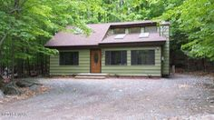 Enjoy all that the Poconos has to offer in this newly renovated Hideout home. Unwind in this very affordable rustic retreat and don't worry about a thing since it has been upgraded from top to bottom. New pine t&g ceilings, oval view entry door, hickory plank floors, pine interior doors, brushed bronze fixtures and hardware, cherry solid wood cabinets, and iron spindles wrapped in natural wood stairs. All this within a short walk to the clubhouse and 9 hole private golf course!