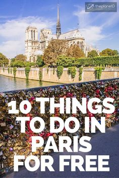 Not only are there many things to do in Paris that are free, they are actually some of the most famous sites in the entire city. What we love about Paris is that the architecture and history is so rich and interesting, that you don't have to spend a penny to have a great time there | The Planet D Adventure Travel Blog More