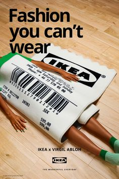 Catherine Losing Virgil Abloh, Ikea, Campaign, Photography, Tent, Core, Collections, Posters, Ads