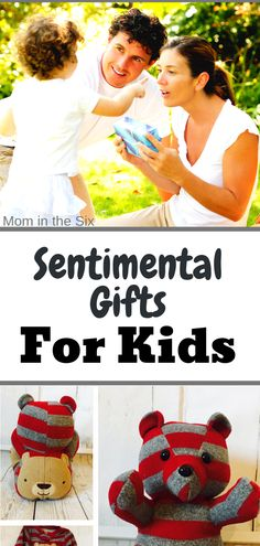 This list of Sentimental Gifts for Kids will allow you to give the perfect memorable gift for the children in your life. Toddler Christmas Gifts, Toddler Gifts, Kids Christmas, Gifts For Kids, First Birthday Gifts, First Birthdays, Toddler Stocking Stuffers, Baby Shower Gifts, Baby Gifts
