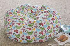 Homemade Bean Bag Chair