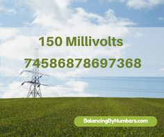 Lloyd gave this number to energetically raise the voltage of the body to 150…