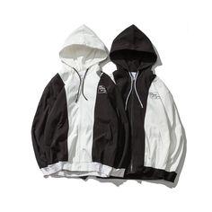Hip Hop Streetwear Contrast Color Design Jacket Men Black White Letter  Print Coat Men 2018 Spring Jaqueta Masculina – 5808 – vaguestar 271d2b344