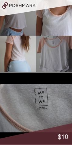 PACSUN crop tee Super thin and very comfortable crop tee from pacsun. I love this shirt but I never wear it !  ( I take all my pictures!)   ✅Open to reasonable offers   No trades 🚫  Smoke free home 🚭  Ask if you have a question ❗️  All items washed before shipped 🤞🏼  Check out my other clothes! Thank you 💕 PacSun Tops Crop Tops
