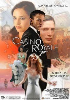"""Casino royale"" daniel craig, eva green, mads mikkelsen and more. James Bond Movie Posters, James Bond Movies, Casino Movie, Casino Theme, Capas Dvd, Cinema Tv, Casino Night Party, Daniel Craig, Bond Girls"