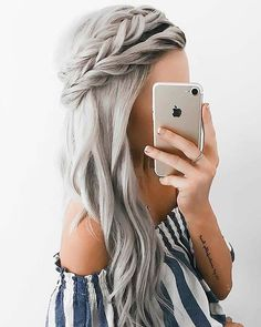 40 Pretty hairstyle you should try - Pretty hairstyle
