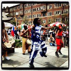 African Drum & Dance at UTK's International Festival