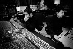 Trent Reznor & Atticus Ross I shook both of their hands one night.... Real life!!! <3