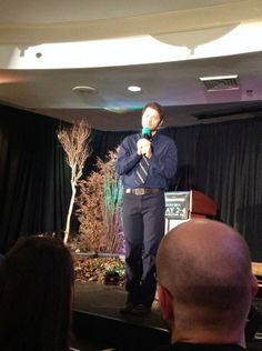 """Misha: """"We have a gif for that."""" #awesome #dccon   HAHA!! Oh tumblr, we need to find this video pronto and make a gif for that!! ;D"""
