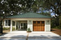Carport with covered walk way to house way to for Garage and carport combination