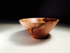 This bowl was made from a Turkey oak Burl I recognised and saved from firewood the last year. The tree was felled at about 15 km from my workshop her in Tuscany. I first roughed out the bowl when the wood was green then I let it store for seasoning for about 12 months. During this stage the wood distort into oval shape but it didn't so much so I could easily restore the circular shape on the lathe when I started to finish it. I chose a straight design of the walls to let them di...