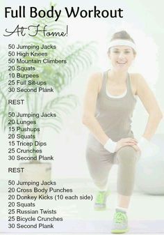This tip made me think of you: Full Body Workout!!
