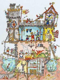 Cut Thru' Castle da Bothy Threads - Bothy Threads - Ricamo - Casa Cenina