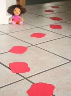 Dora Stepping Stones Birthday Party'  Wonderful ideas! Need to do some of these for Alice's B-day