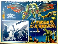Invasion of the Astro-Monsters (1965) via Mexico, with Godzilla appearing in disguise.