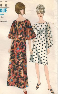 1960s Vogue 6622 Vintage Sewing Pattern Misses by midvalecottage, $12.00