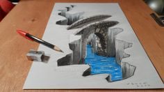 3d Bridge by VamosArt