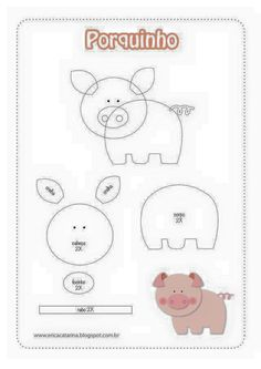 27 Animals That Start With M in The World [Pictures of Animals] Felt Animal Patterns, Felt Crafts Patterns, Easy Sewing Patterns, Stuffed Animal Patterns, Foam Crafts, Preschool Crafts, Diy Crafts, Baby Sewing Projects, Sewing For Kids