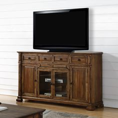 """Loon Peak Rancho Palos Verdes TV Stand for TVs up to 88"""" & Reviews 