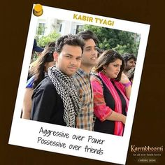 Aggressive over Power, Possessive over Friends,  That's Kabir Tyagi for you!  #MeetKabir #KabirTyagi #SportsPresident #Romantic #Cricketer #Sporty #Rebel #Aggressive #Political #Charged #TeamLeader #Authority #TrueLeader #Leadership #Lead #Karmbhoomi #KBU #YouthSeries #NewTvSeries #YouthLeaders #TVShow #2016Shows #ComingSoon #YouthTvShow #CollegeLife #Friendship  #DramaSeries #IssueBasedSeries #KBULeaders