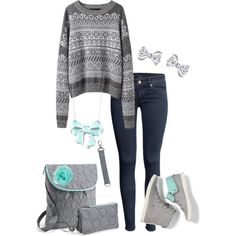 """""""Thirty-One Vary You Backpack Purse and Vary You Wristlet in grey"""" by jade-illeck on Polyvore"""