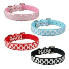 Great savings on this Spotty Dog Collar with Pawsifty - your source of daily pet deals with free worldwide delivery.    http://www.pawsify.com/product/spotty-dog-collar/