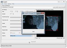 Crear GIF animados de prácticamente cualquier cosa que tengan en pantalla Gifs, Blog, Html, Internet, Tools, Create, Display, Instruments, Presents