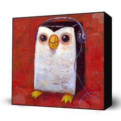 """This Mini Art Block measures 10 x 10 inches and is mounted to a 2"""" deep hand stained black frame. It's packaged with care and ships to you ready to hang on your wall complete with an easy to use hangi"""