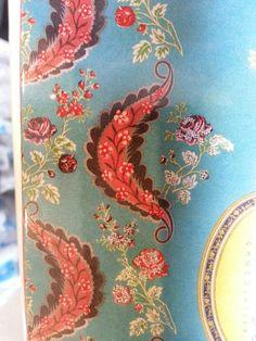 Make Paisley piece over Paisley textiles