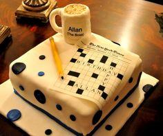 crossword puzzle cake ideas Crossword+puzzle+cake cake ...