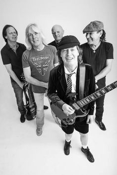 "NEWS: The rock band, AC/DC, has announced the North American dates for their ""Rock or Bust World Tour,"" for this fall. The dates kick off on August 22nd in Foxborough, MA at Gillette Stadium and go through September 28th in Los Angeles, CA at Dodger Stadium. You can check out the dates and details at http://digtb.us/1ACnMpg"