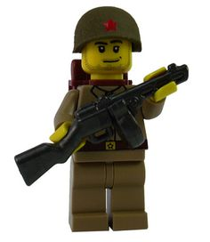 Custom Lego Military Soldier Minifigure Model Soldiers Russian Soldier