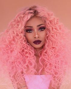 15 Best Curling Wands for Amazing Curls . Pretty Hairstyles, Wig Hairstyles, Hairstyle Ideas, Instagram Look, Best Curling Wands, Curly Hair Styles, Natural Hair Styles, Colored Curly Hair, Aesthetic Hair