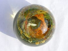 ilse of glass | Isle of Wight Studio Glass paperweight
