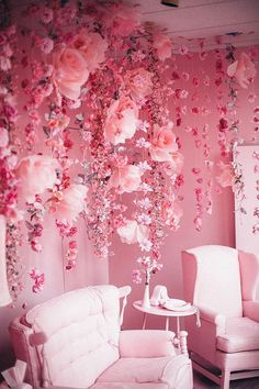 I'll take pink flowers any day.