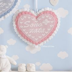 Quilling, Diy, Grande, Garland, Embellishments, Craft, Feltro, Cross Stitch Designs, Hearts