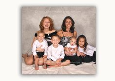 Family Photography Poses For 6 People