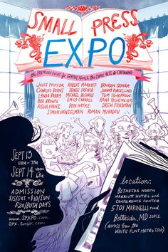 The SPX Mission | SPX: The Small Press Expo