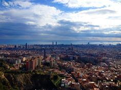 Turó de la Rovira (Barcelona, Catalonia)