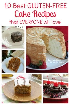 10 Best Gluten-Free Cake Recipes