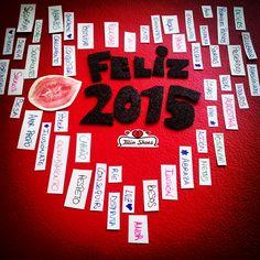 Que el 2015 sea todo lo que tú quieras que sea y que esté cargadito de #amor :) #FelizAño!!! www.twinshoes.es