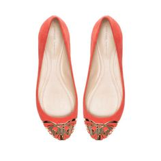 OBSESSED!!!!       BALLERINA WITH METAL TOE CAP - Shoes - Woman - ZARA United States