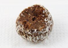 Almond Pulp Chocolate Balls