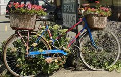 """Garden Bicycle by """"M"""" PEARL, via Flickr"""