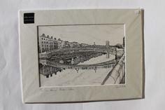 The Ha Penney Bridge Dublin Irish Art, Art For Sale, Dublin, Cork, Bridge, Framed Prints, Drawings, Painting, Painting Art